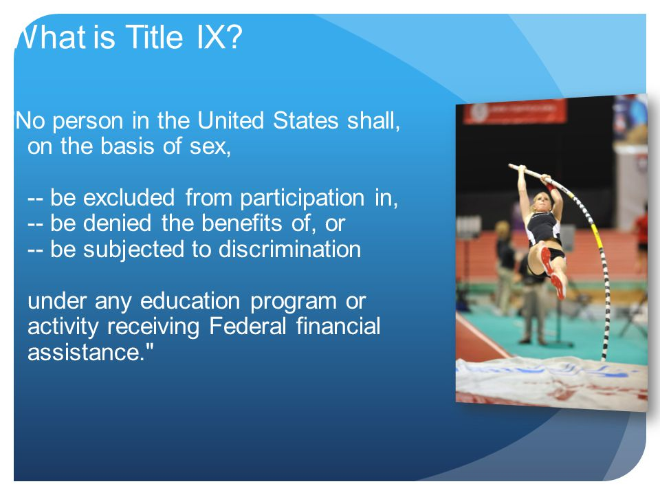What is Title IX