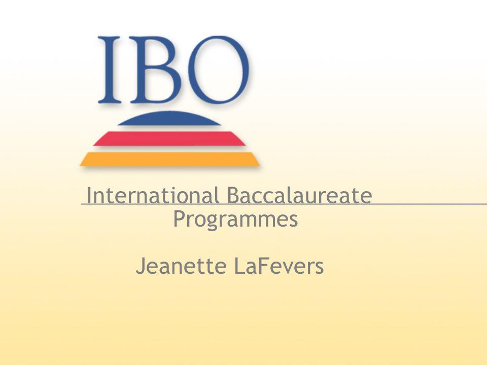 International Baccalaureate Programmes