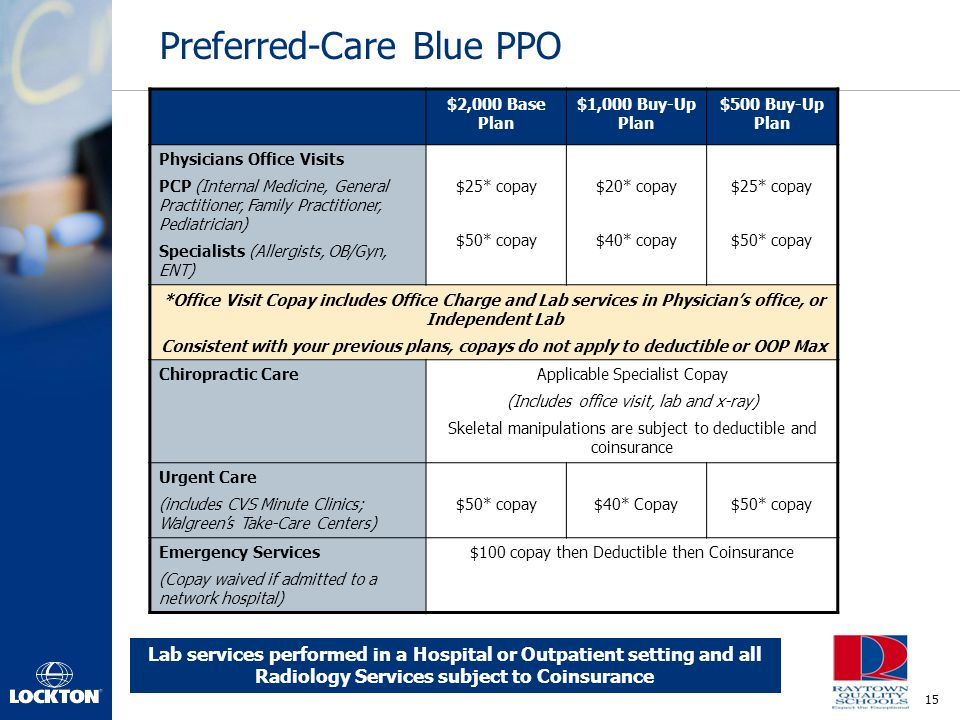Preferred-Care Blue PPO