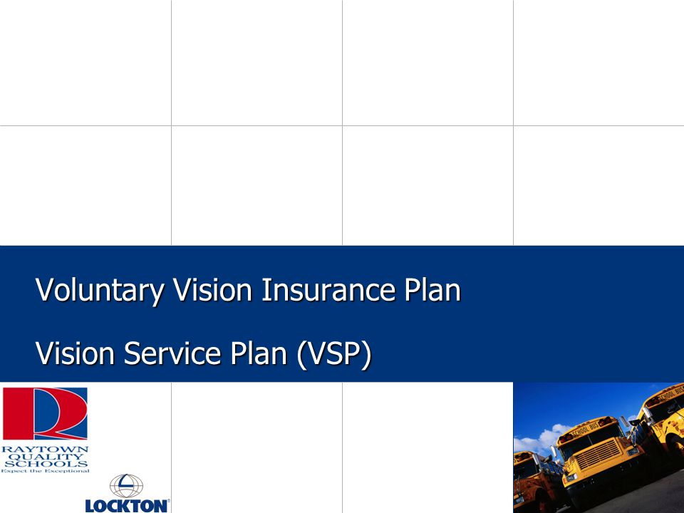 Voluntary Vision Insurance Plan