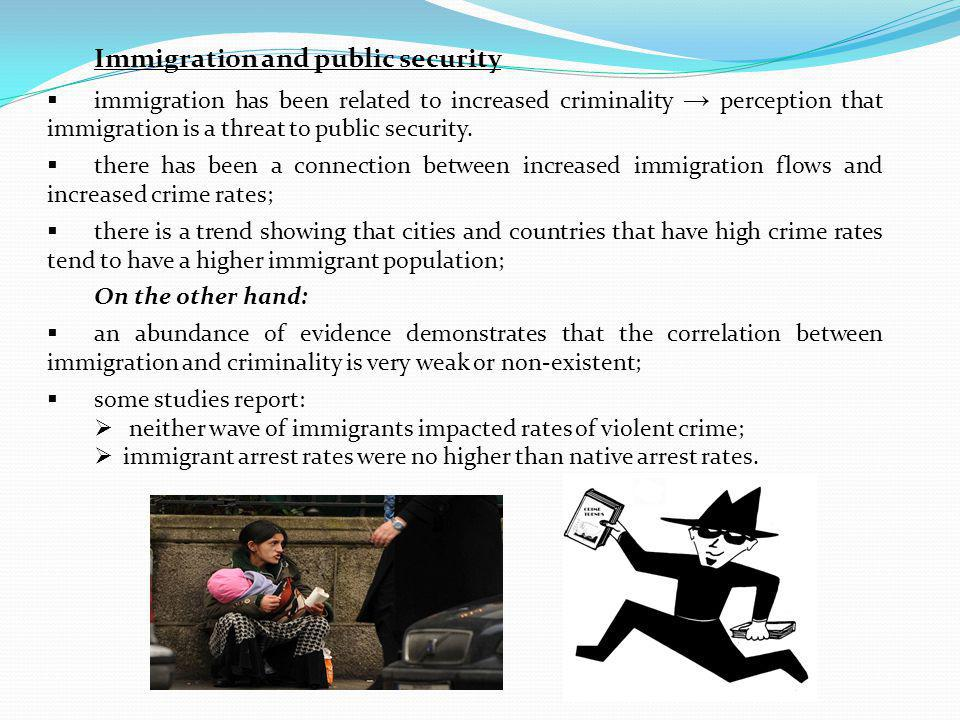 Immigration and public security
