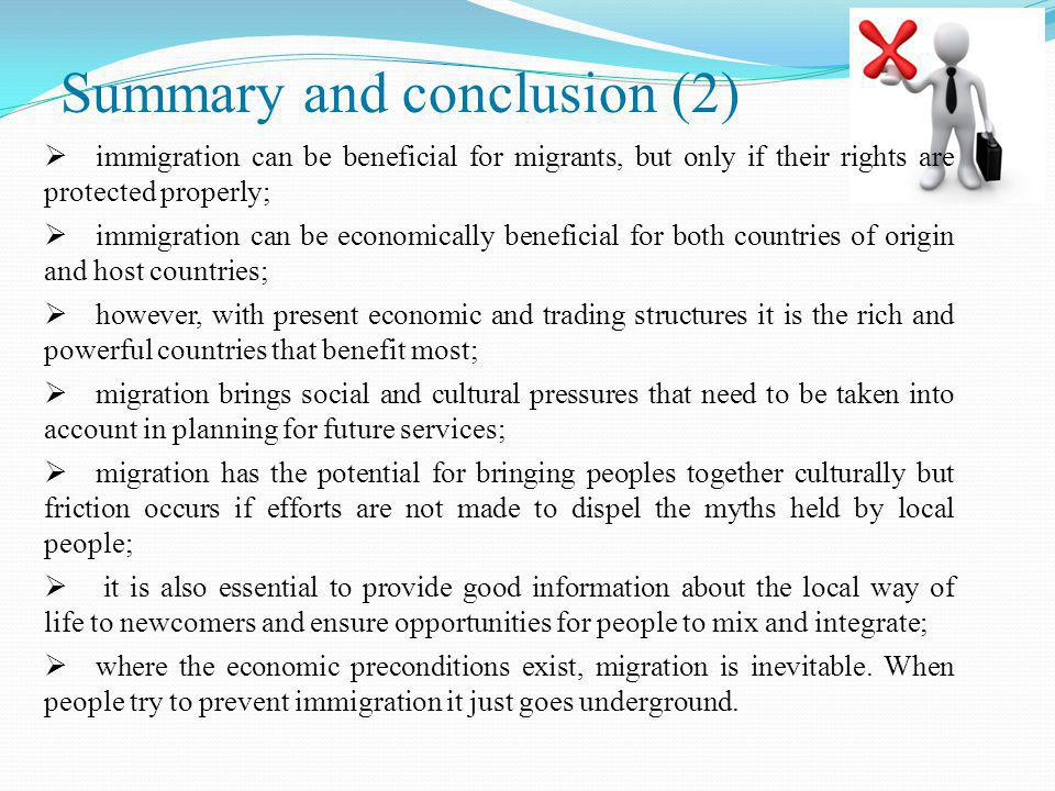 Summary and conclusion (2)