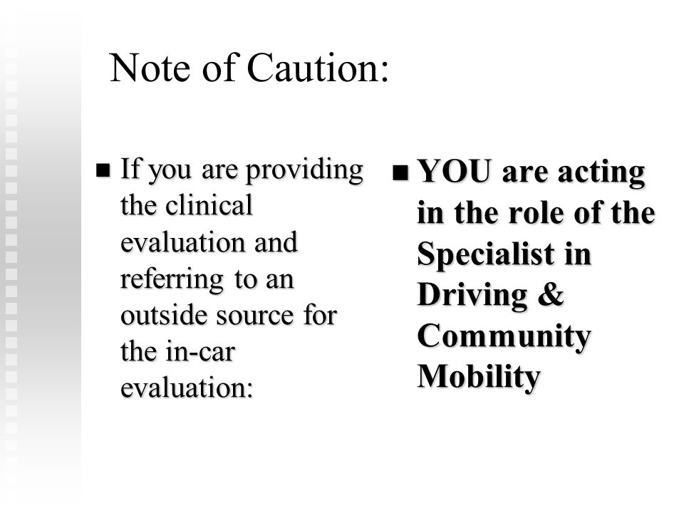 FLOTA Conference Febuary 8, 2009. Note of Caution: