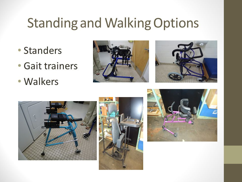 Standing and Walking Options
