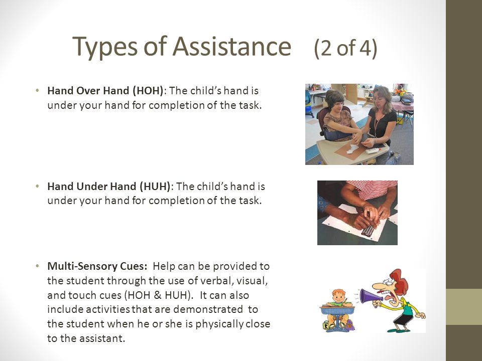 Types of Assistance (2 of 4)