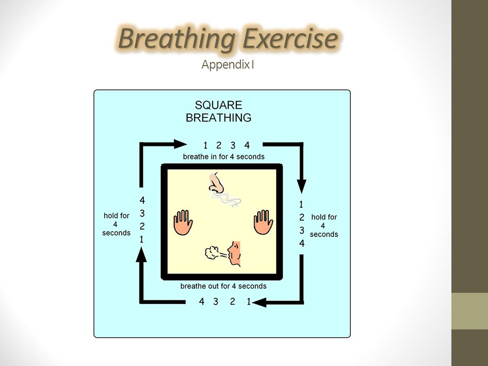 Breathing Exercise Appendix I