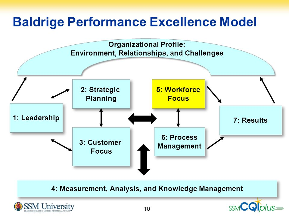 Baldrige Performance Excellence Model