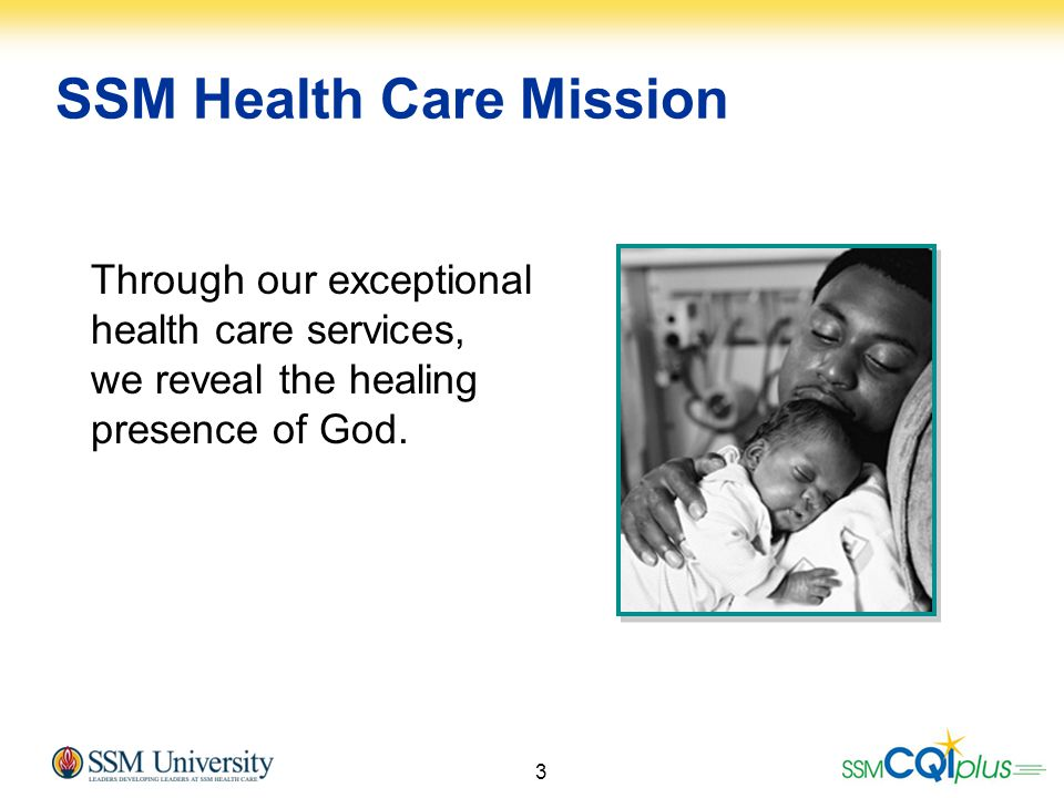 SSM Health Care Mission