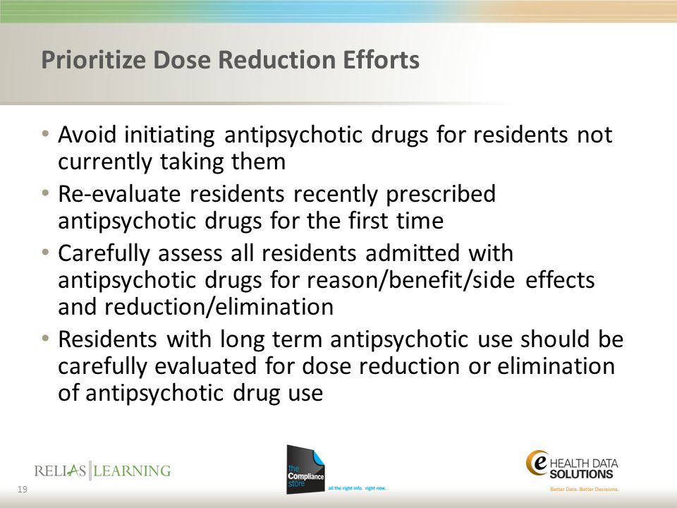Prioritize Dose Reduction Efforts