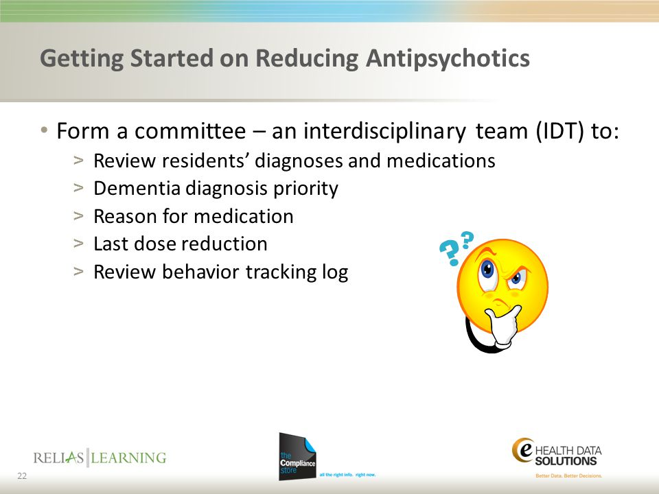 Getting Started on Reducing Antipsychotics
