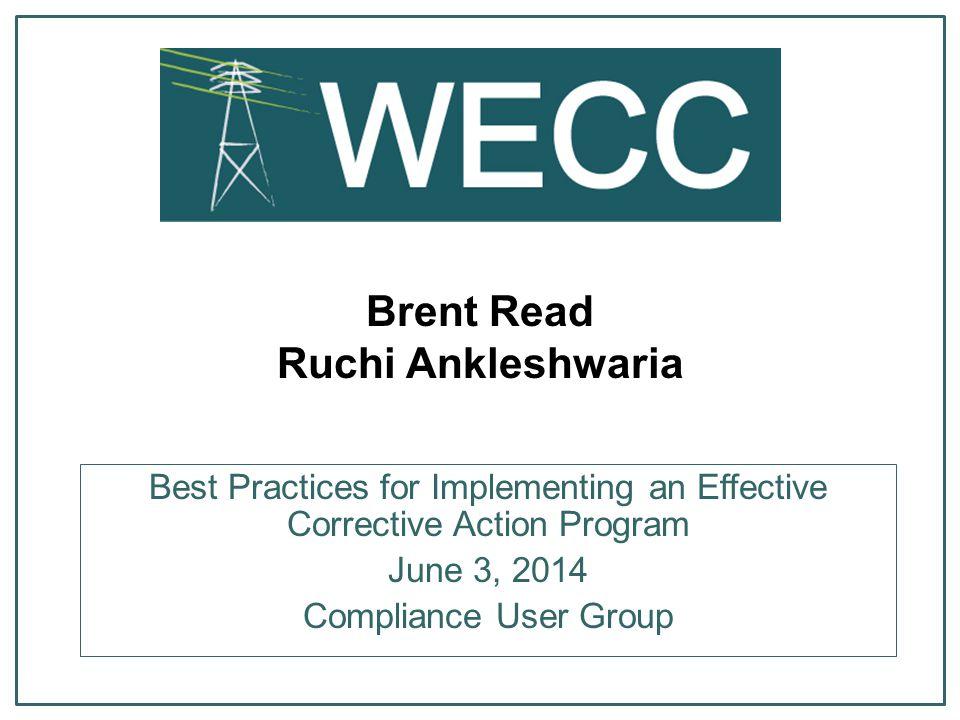 Brent Read Ruchi Ankleshwaria