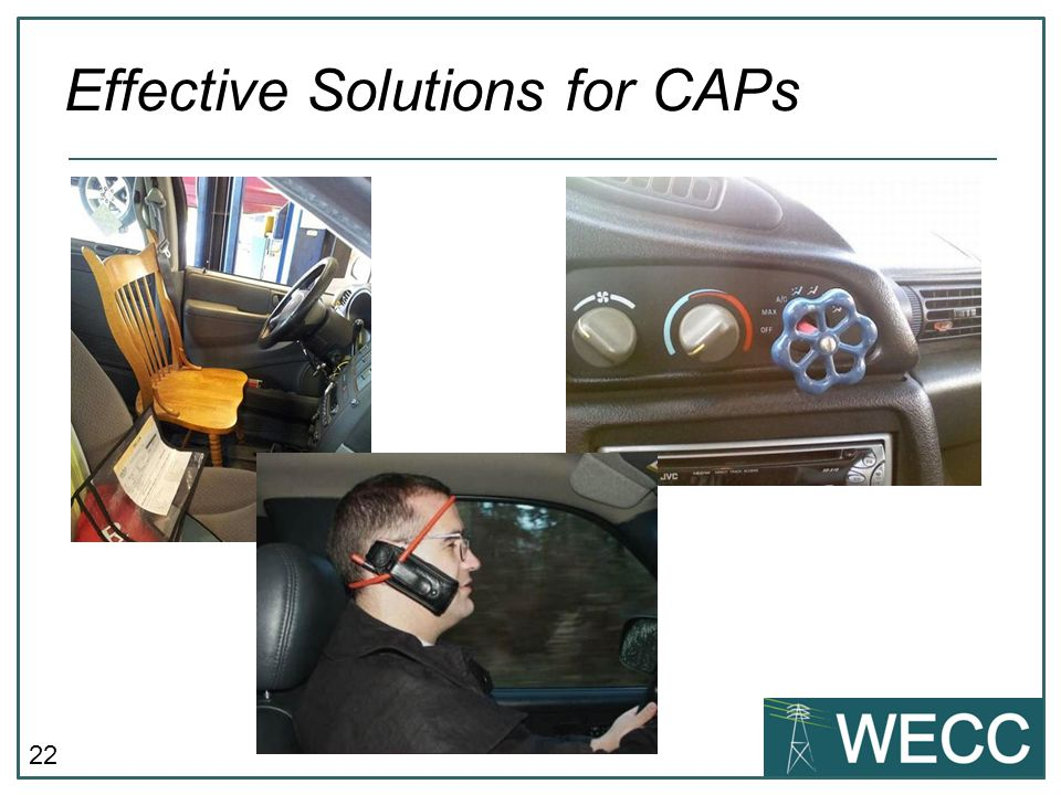 Effective Solutions for CAPs