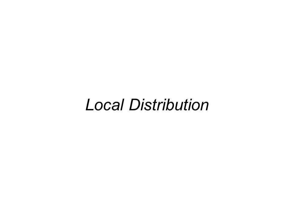 Local Distribution