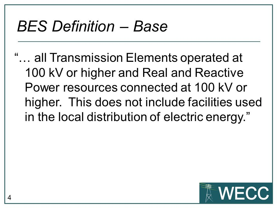 BES Definition – Base