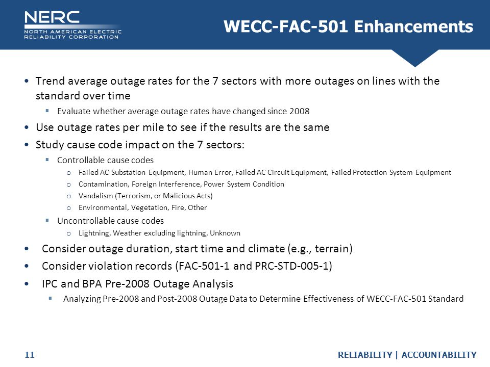 WECC-FAC-501 Enhancements