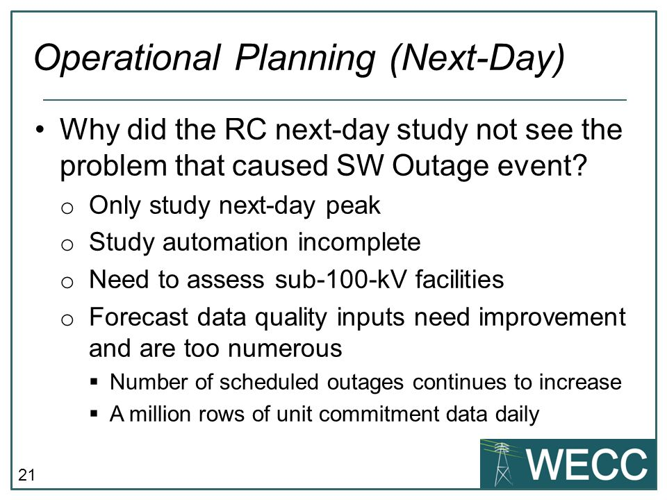 Operational Planning (Next-Day)