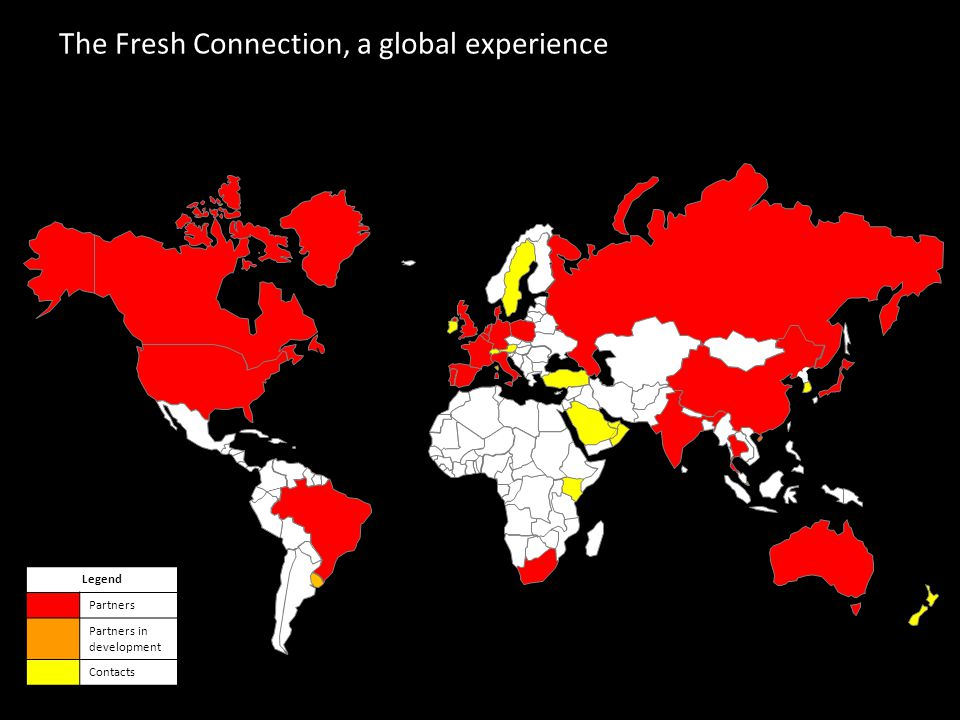 The Fresh Connection, a global experience