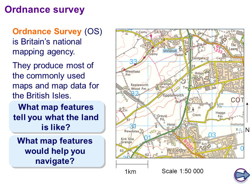 Ordnance survey Ordnance Survey (OS) is Britain's national mapping agency.