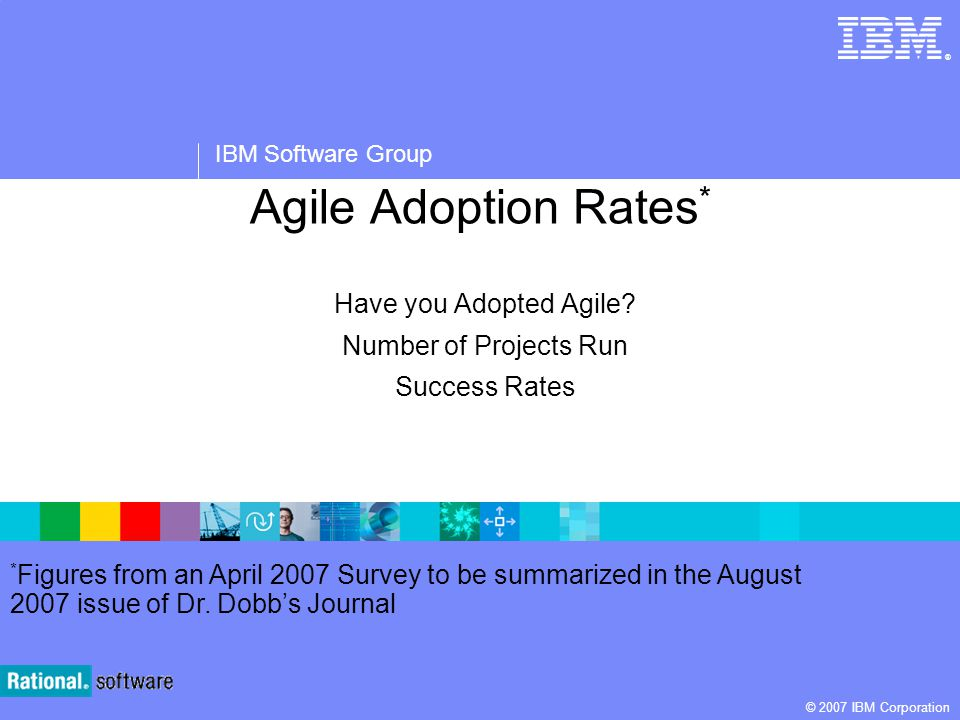 Have you Adopted Agile Number of Projects Run Success Rates