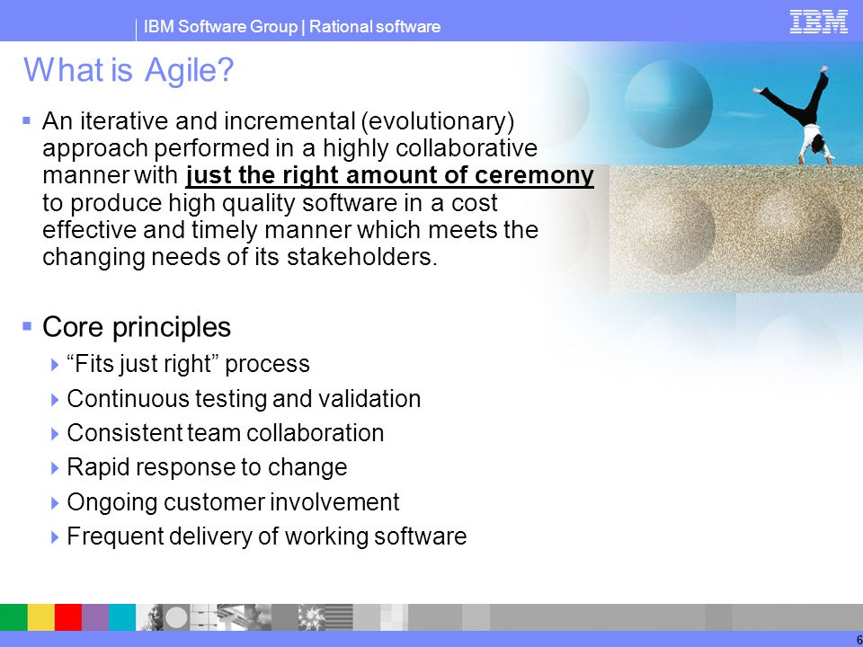 What is Agile Core principles