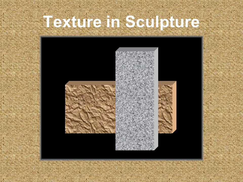 Texture in Sculpture