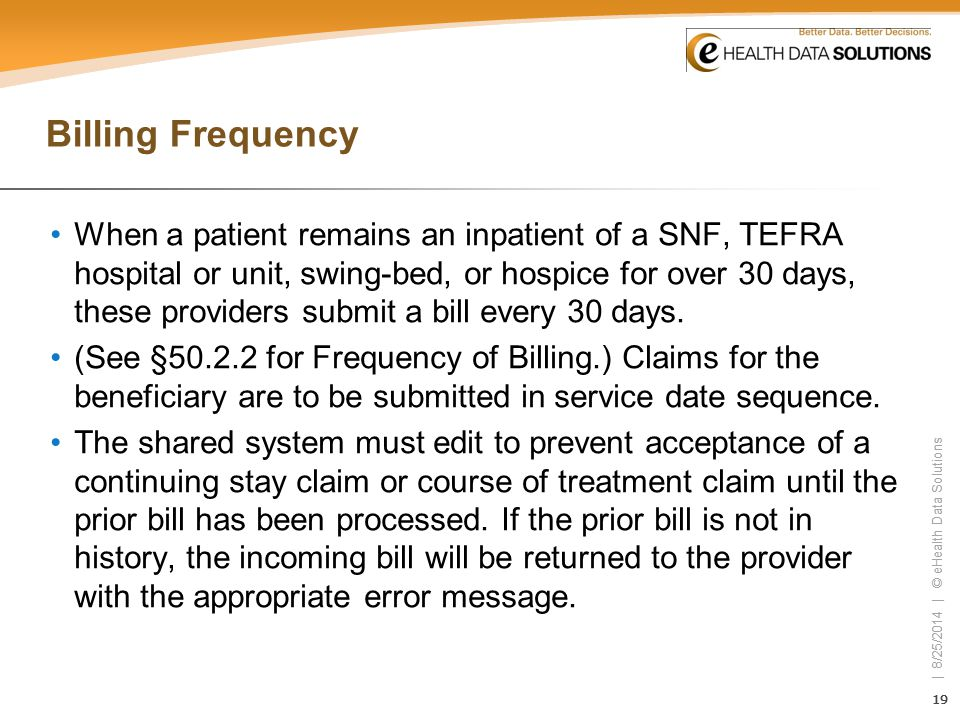 Billing Frequency