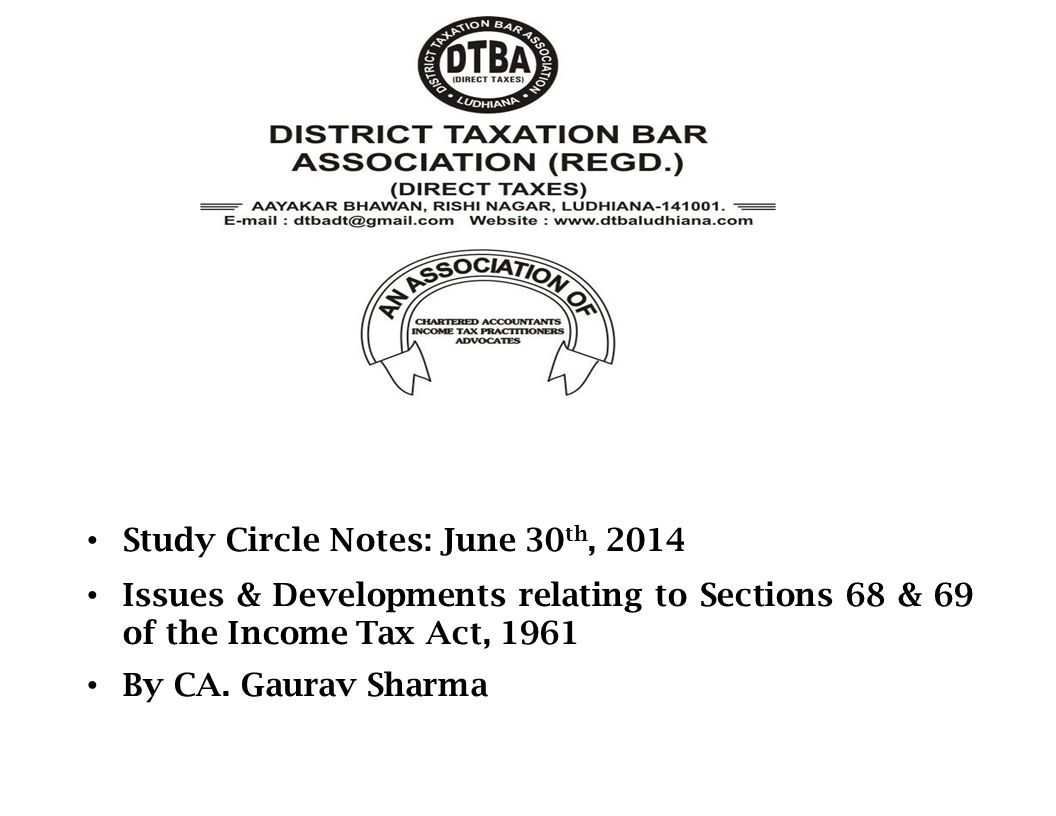 Study Circle Notes: June 30th, 2014