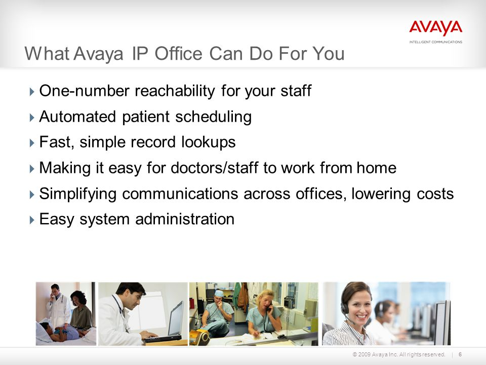 What Avaya IP Office Can Do For You
