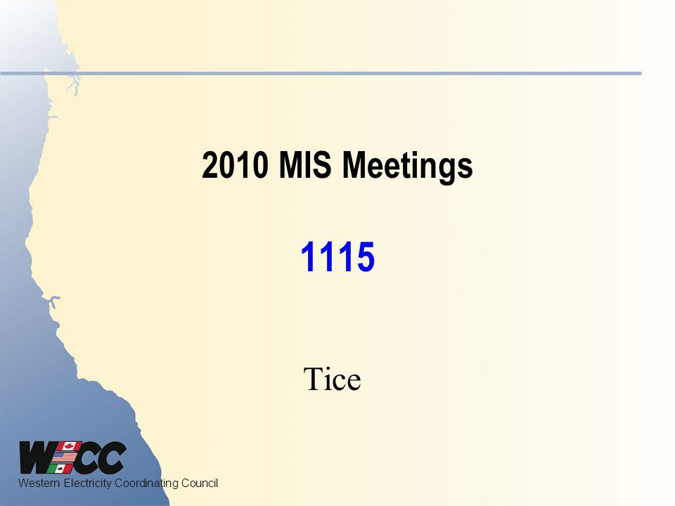 2010 MIS Meetings 1115 Tice