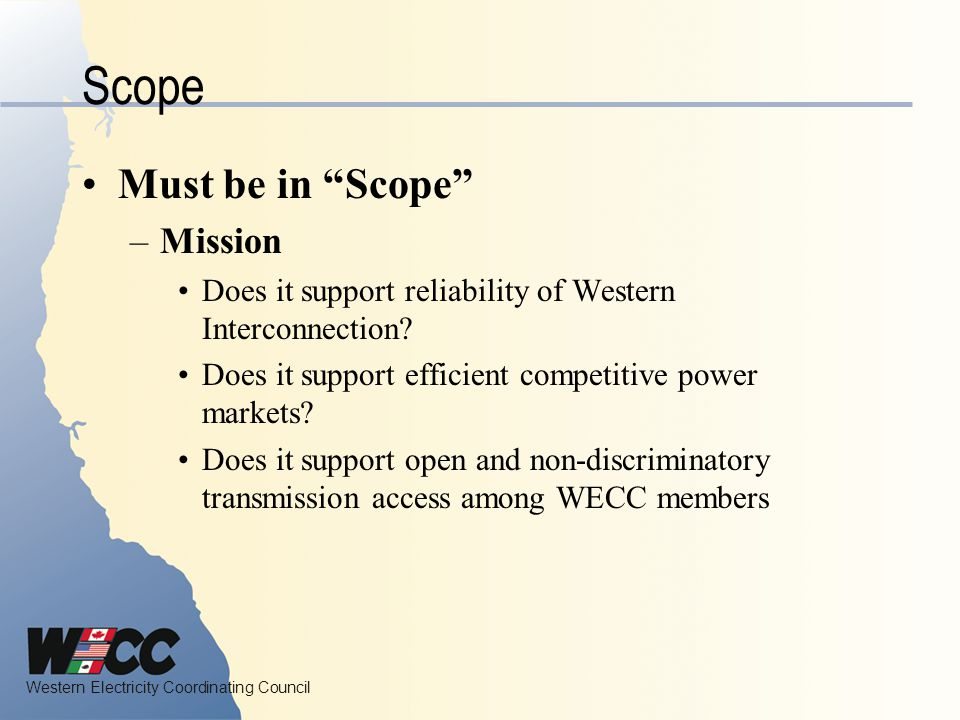 Scope Must be in Scope Mission