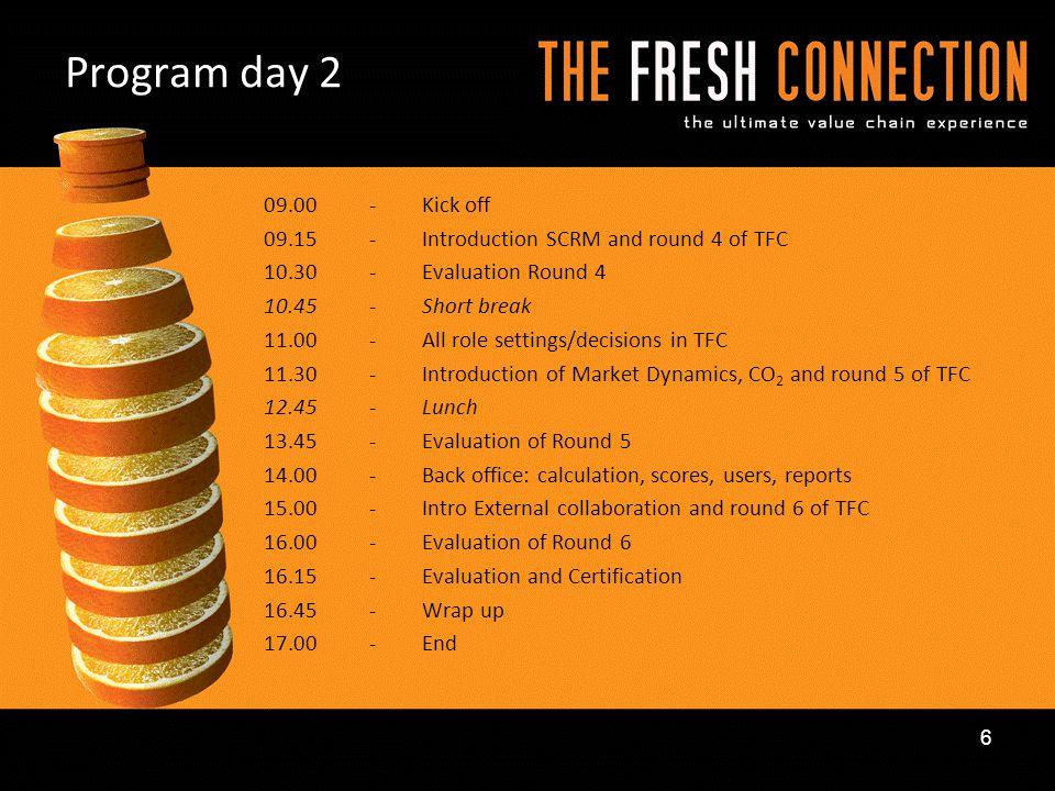 Program day 2