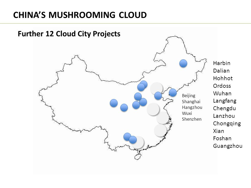 CHINA'S MUSHROOMING CLOUD
