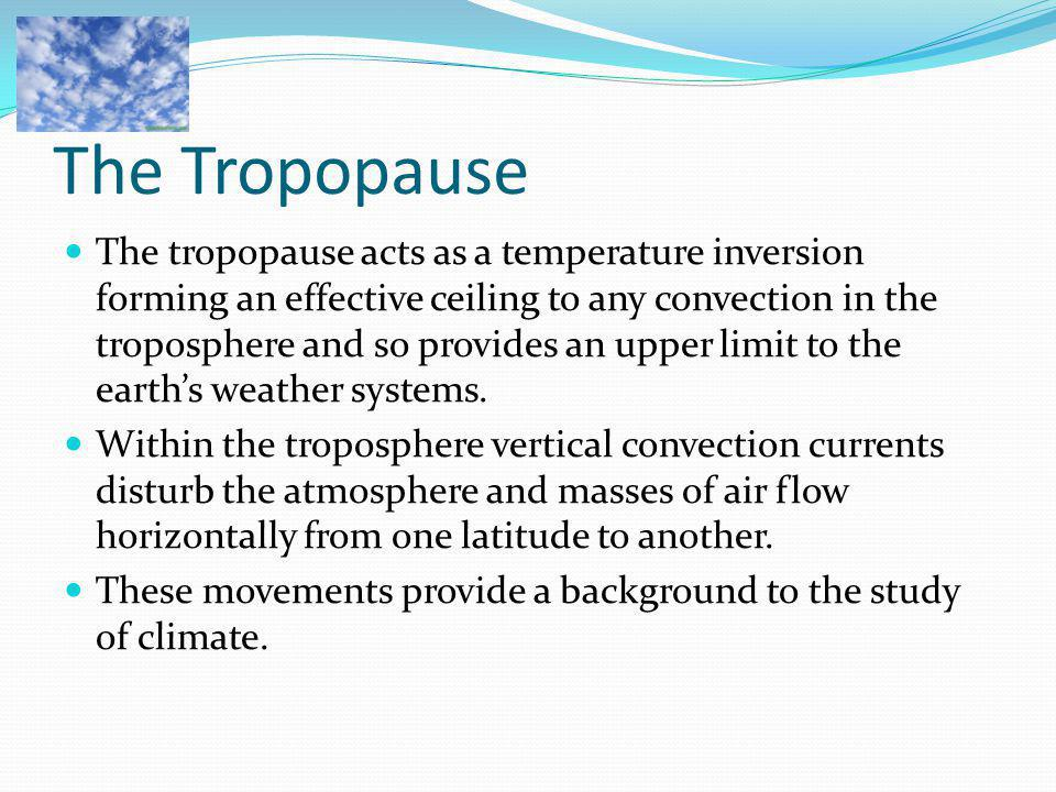 The Tropopause