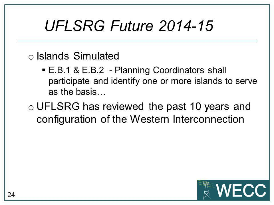 UFLSRG Future 2014-15 Islands Simulated