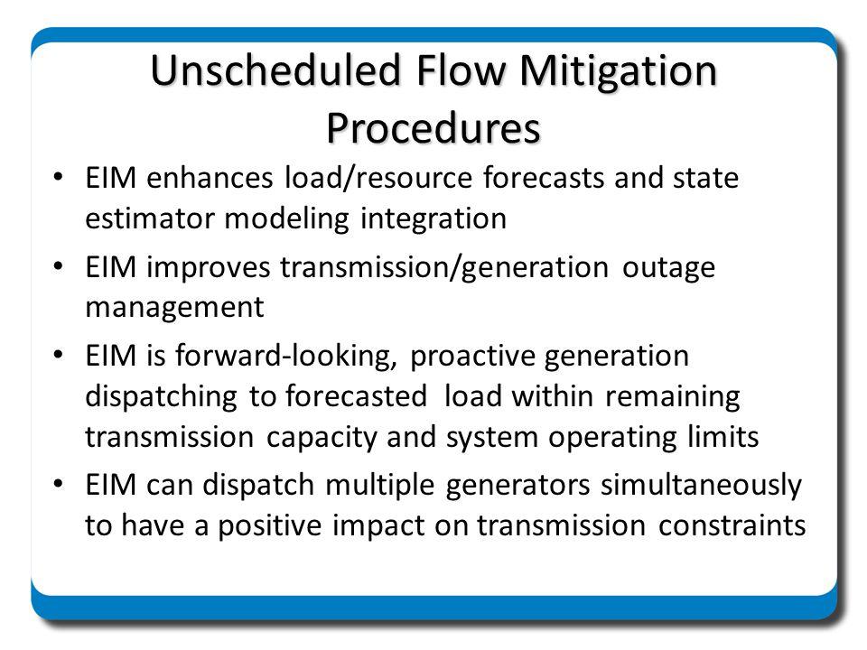 Unscheduled Flow Mitigation Procedures