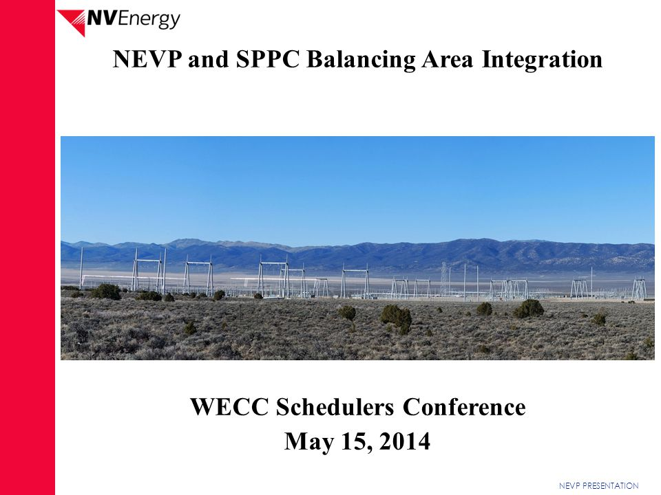 WECC Schedulers Conference
