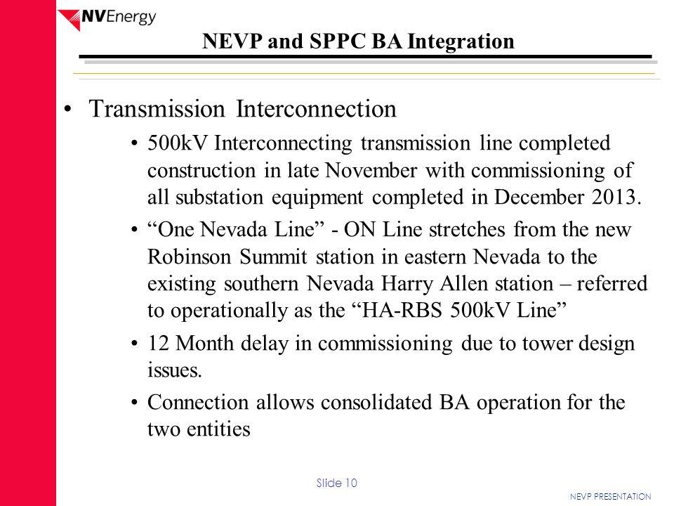 Transmission Interconnection