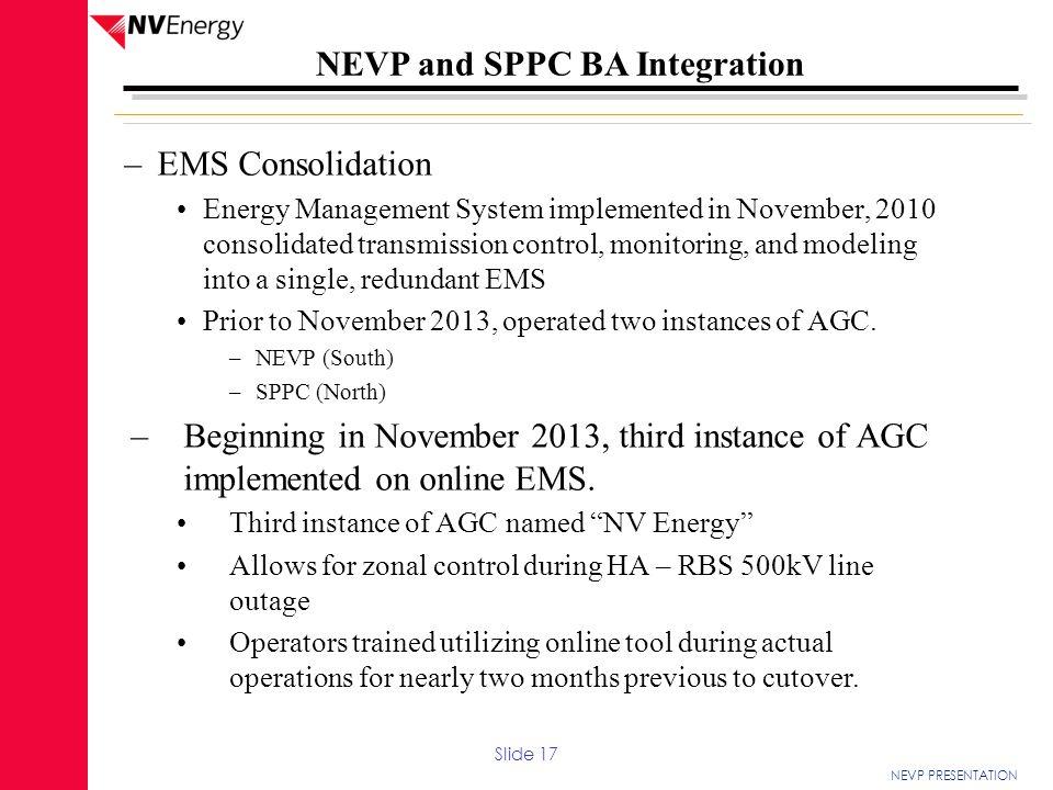 EMS Consolidation