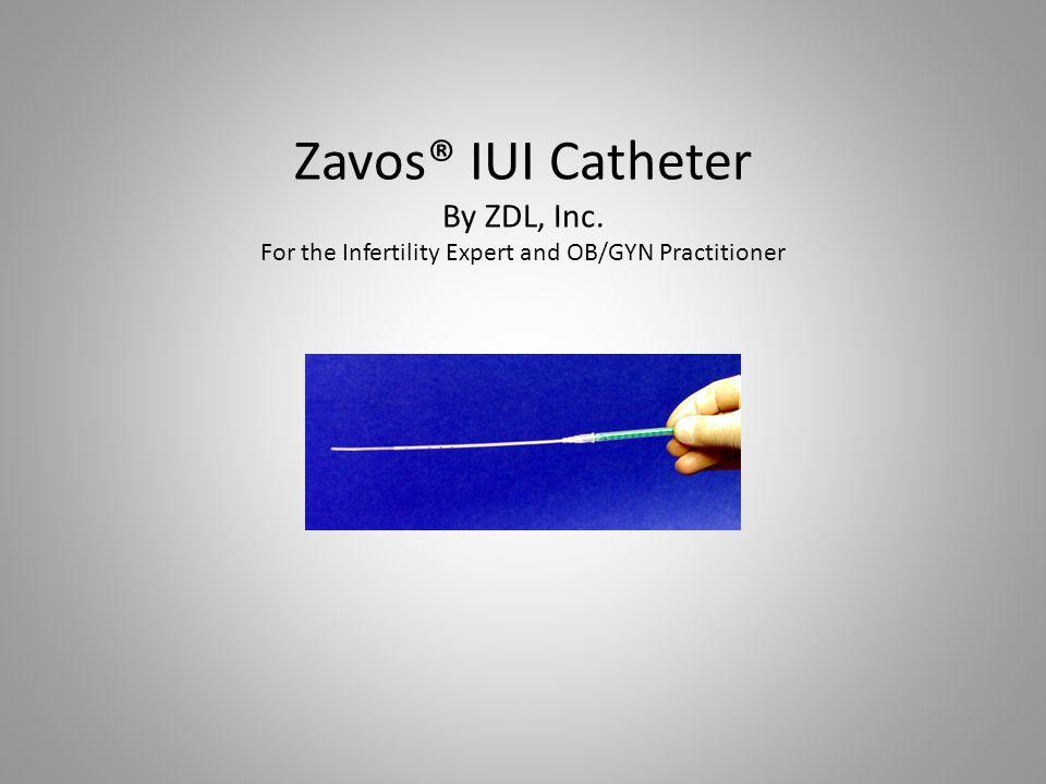 Zavos® IUI Catheter By ZDL, Inc