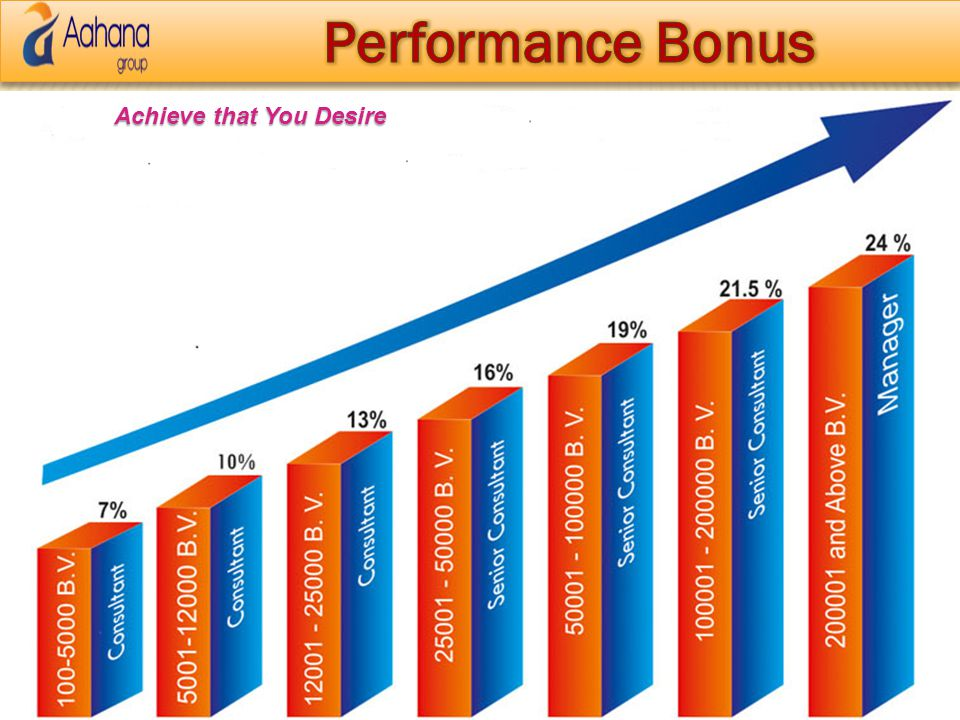 Performance Bonus Achieve that You Desire