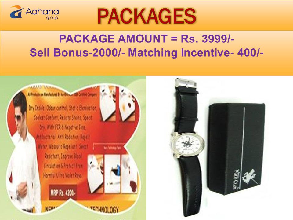 Sell Bonus-2000/- Matching Incentive- 400/-