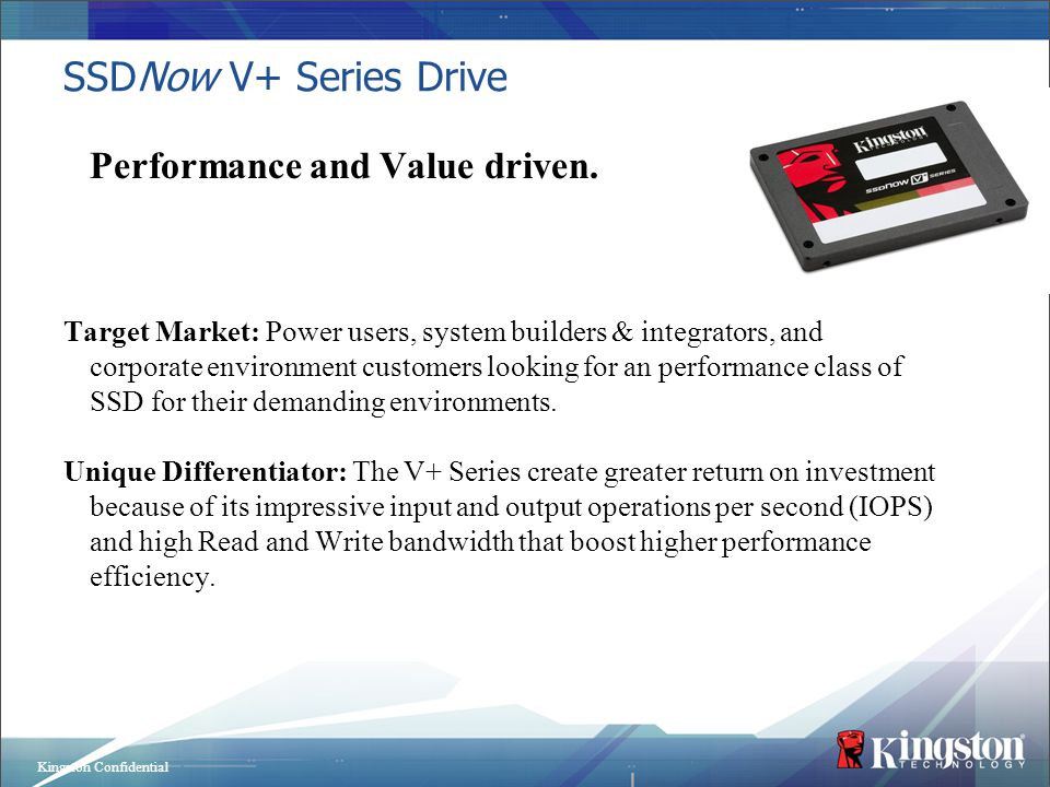 Performance and Value driven.