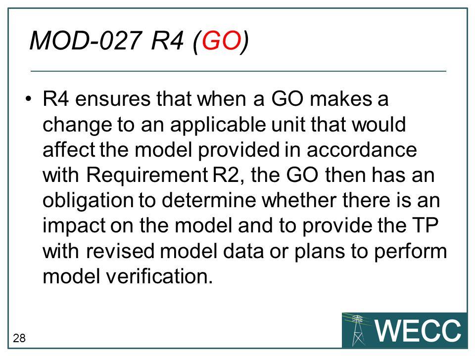 MOD-027 R4 (GO)