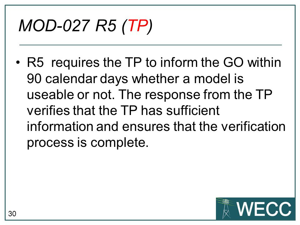 MOD-027 R5 (TP)