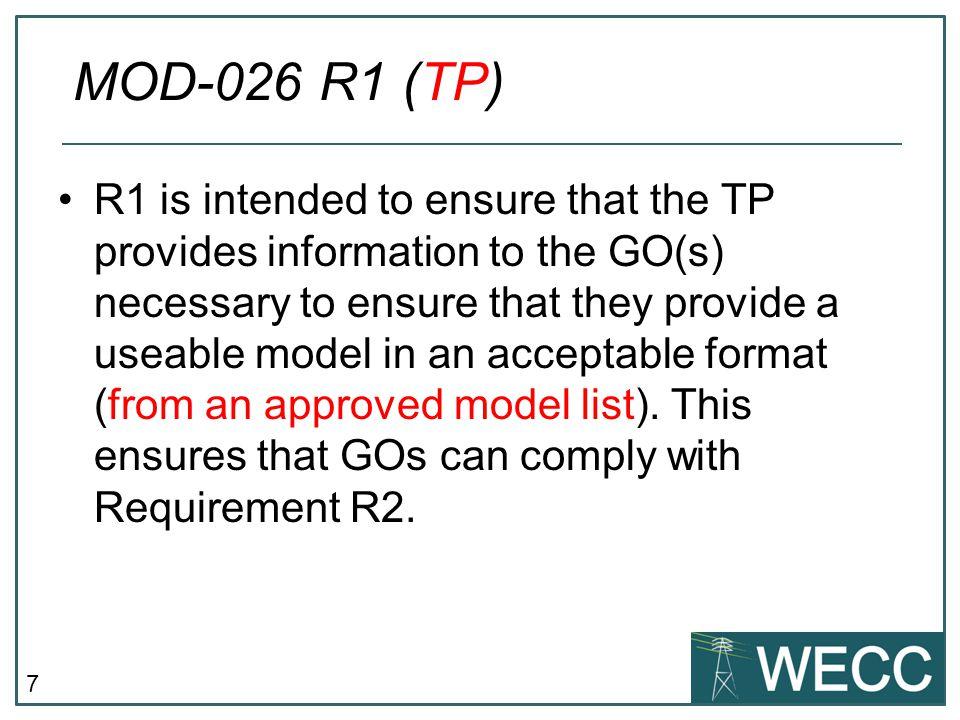 MOD-026 R1 (TP)
