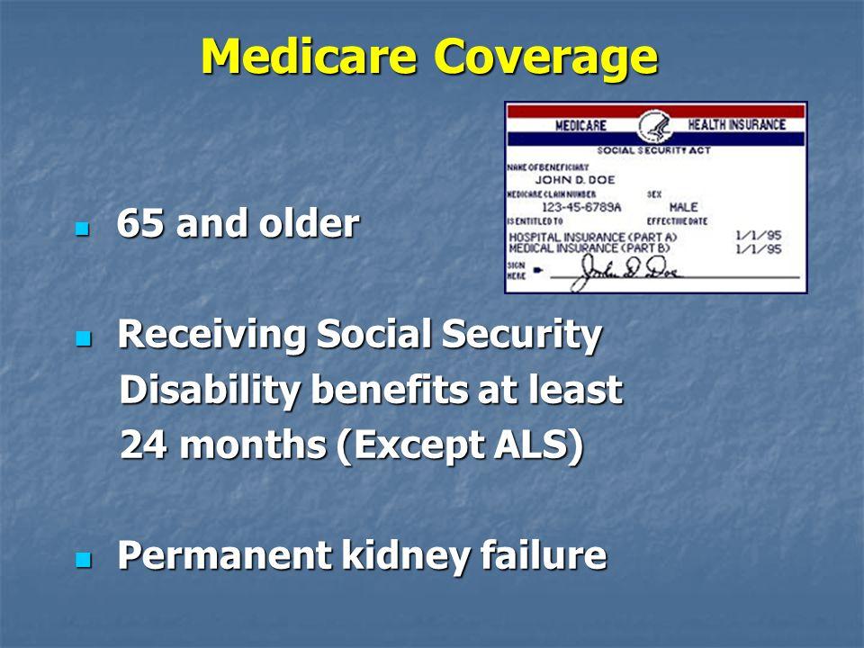 Medicare Coverage Receiving Social Security