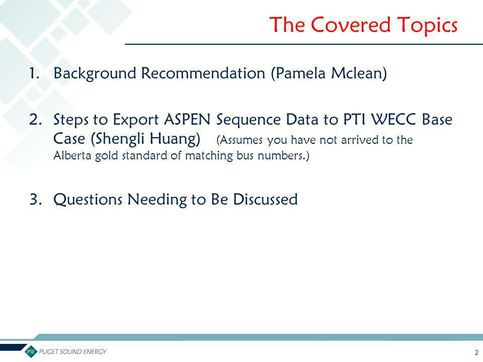 The Covered Topics Background Recommendation (Pamela Mclean)
