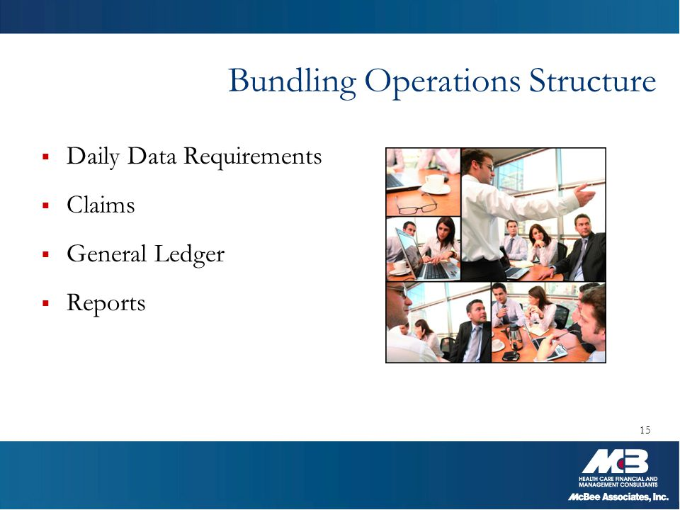Bundling Operations Structure