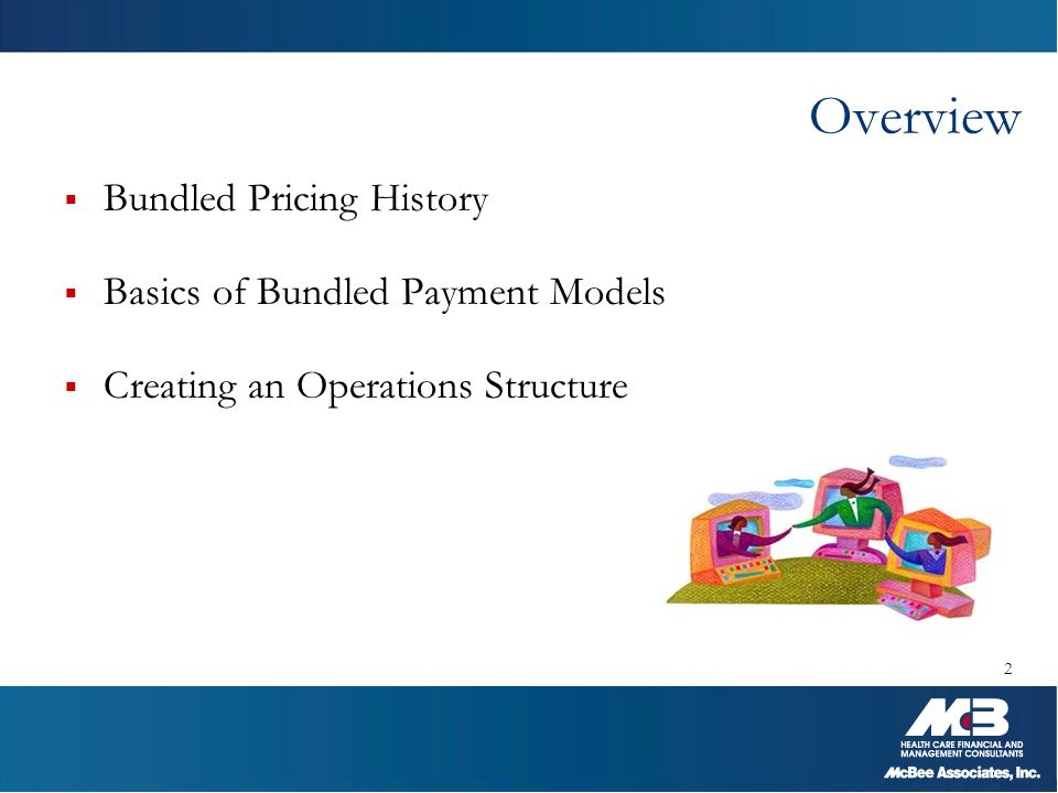 Overview Bundled Pricing History Basics of Bundled Payment Models
