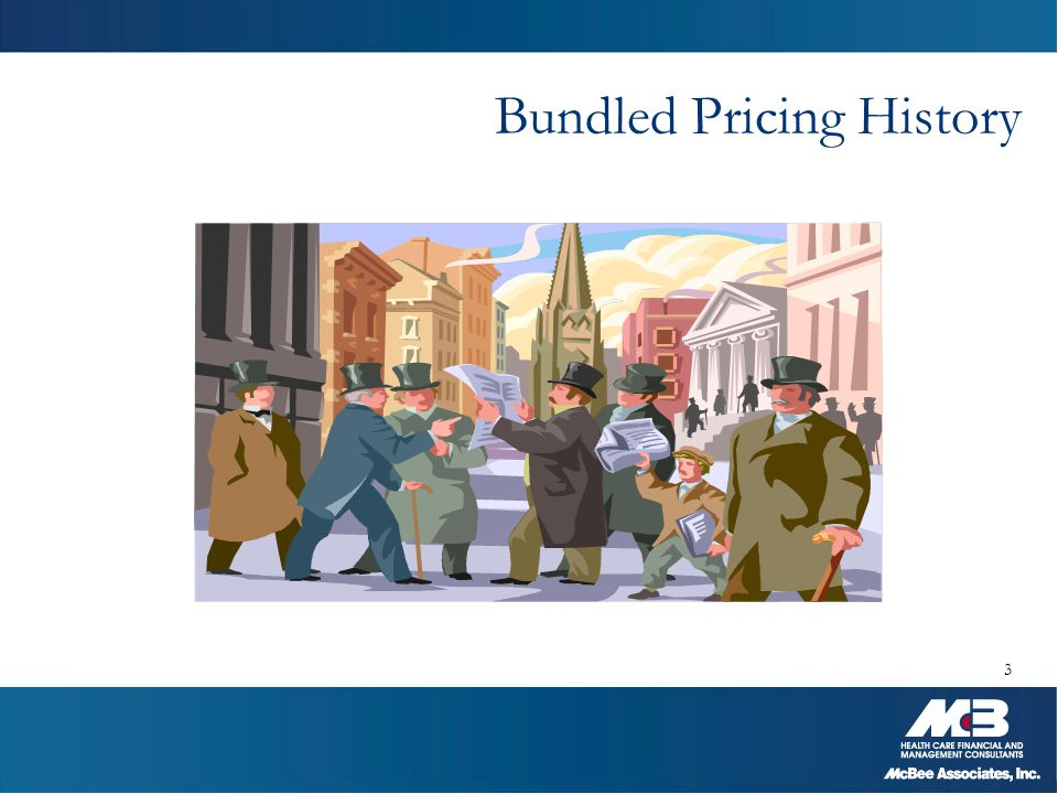 Bundled Pricing History